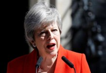 British pm Theresa May announced resignation on June 7