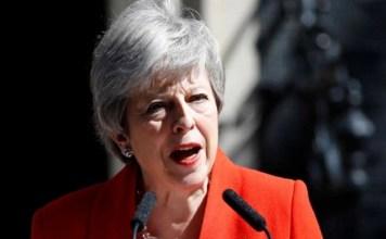 British pm Theresa May announced resignation on June 7