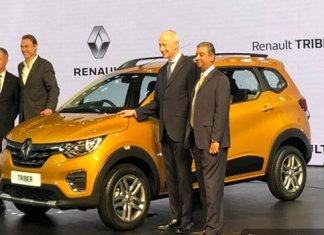 Renault Triber Global Unveil in india