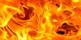 fire in godown of agricultural grain market in Ajmer