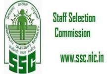 SSC 2019 Recruitment for 1350 Vacancies