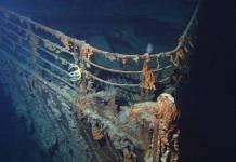 Titanic debris completely submerged in 2030
