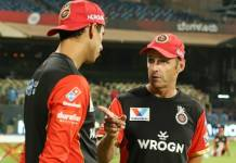 ipl team Royal Challengers Bangalore dismiss Ashish Nehra and Gary Kirsten