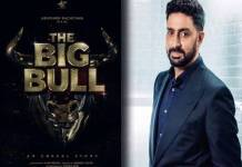 Abhishek Bachchan shares The Big Bull Poster on Social Media