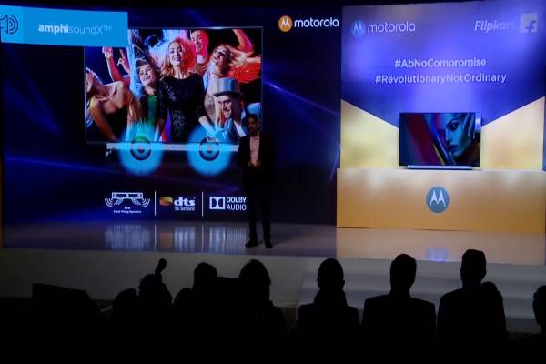 Moto TV audio experience