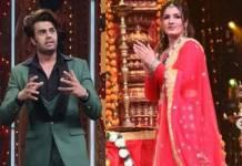 nach-baliye-9-raveena-tandon-maniesh-paul-get-into-a-big-fight-on-set