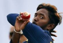 icc banned sri lanka bowler akila dananjaya from bowling one year