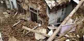 The couple died after being buried in the debris of Jaunpur UP house two injured