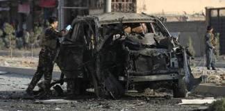 Seven dead in Kabul bombing
