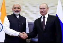 pm narendra Modi discussed bilateral issues with President Vladimir Putin