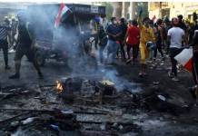 300 people killed in demonstrations in Iraq