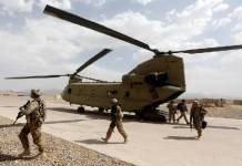 Two American soldiers killed in Afghanistan helicopter crash