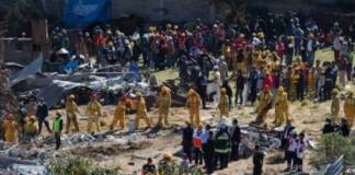 Explosion in Mexico, four dead