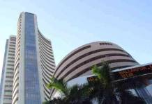 Sensex closes with gains of 42.28 points and Nifty 15.45 points