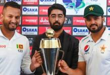 Pak vs SL 1st Test 1st day Live score update