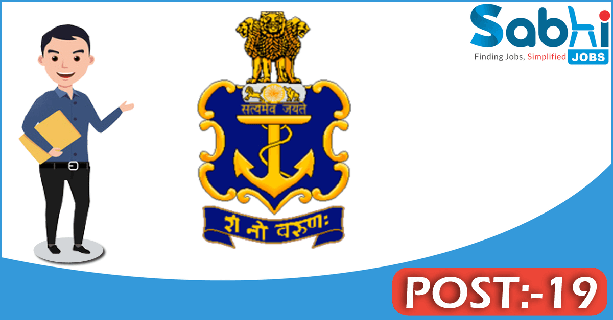 Indian Navy recruitment 19 SSC in Pilot/ Observer/ ATC entry