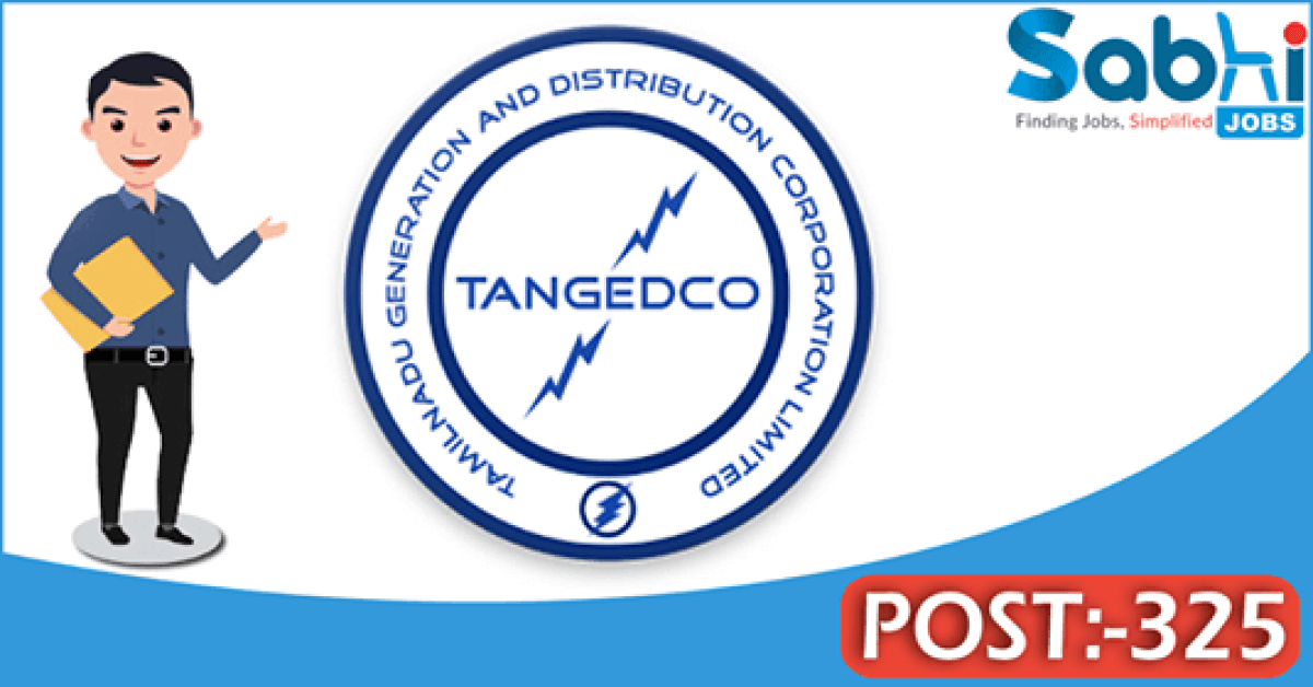 TANGEDCO recruitment 325 Assistant Engineer