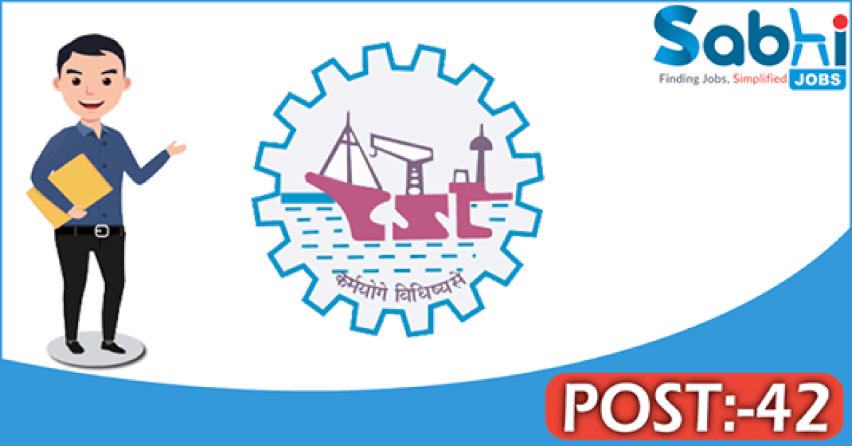 Cochin Shipyard recruitment 42 Senior Project Officer, Project Officers