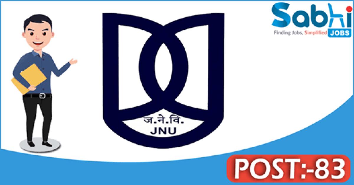 JNU recruitment 83 Associate Professor, Assistant Professor