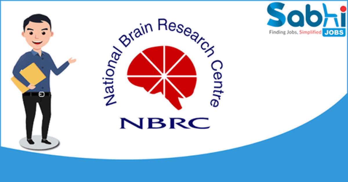 NBRC recruitment 2018 notification Apply for Senior R & D Engineer