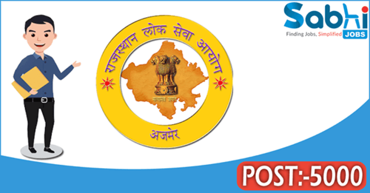 RPSC recruitment 5000 School Lecturer
