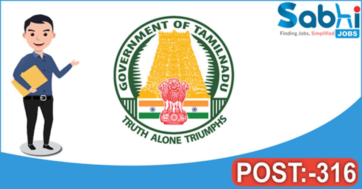 TNPSC recruitment 316 Civil Judge
