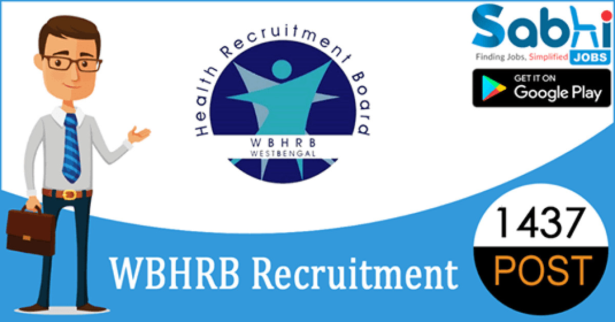 WBHRB recruitment 1437 Medical Officer