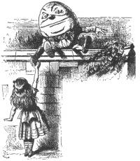 Humpty Dumpty with Alice