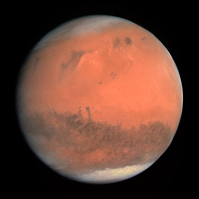 foto del planeta rojo