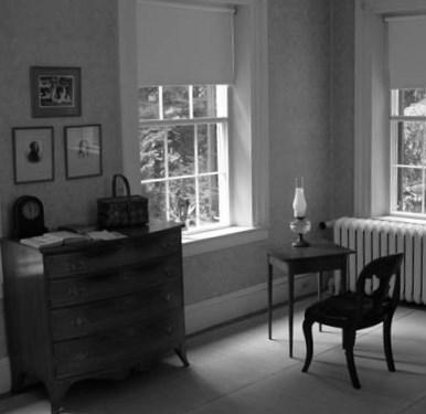 La habitación de la poeta