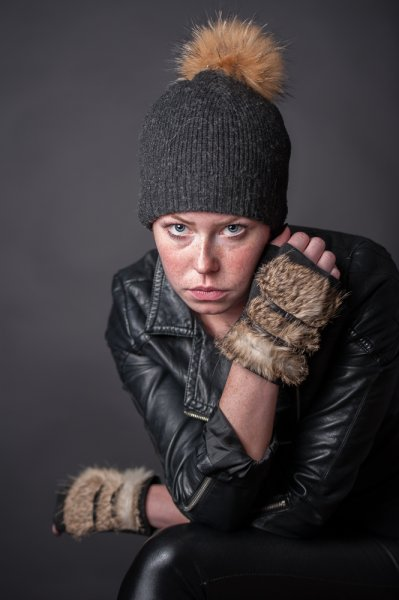 Winterliches Studioshooting  Sabine Kast Photography