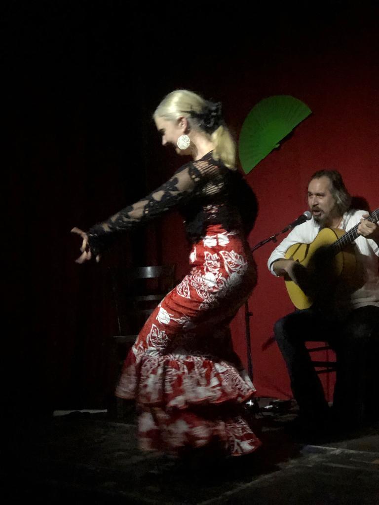Auftritt Sabine Maria Leitner & Gonzalo Franco