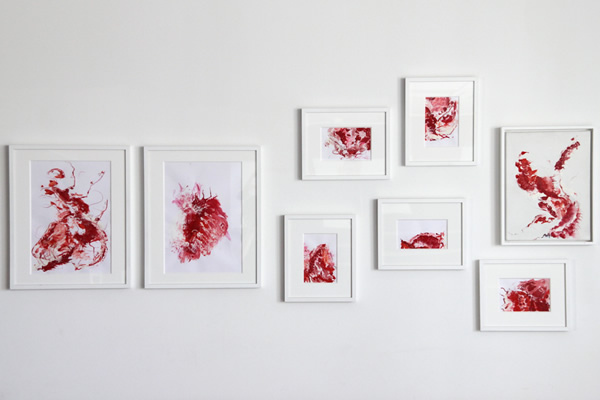 Semblanza Tanzstudios - gemalte Wandbilder