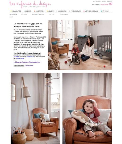 Les Enfants du Design / Emmanuelle Pron