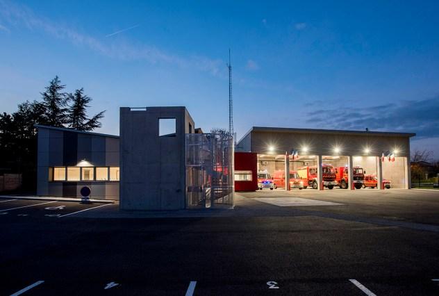 Caserne de Soucieu-en-Jarrest/ Architecture Linda Aydostian