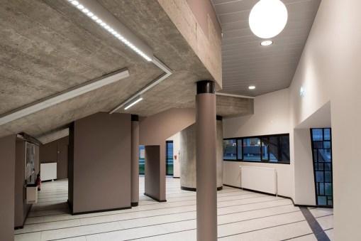 Amphithéâtre Gaston berger / INSA / Lyon/ Architecture Linda Aydostian