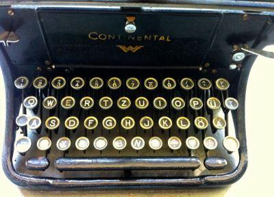 Sabine-Dinkel-Schreibmaschine