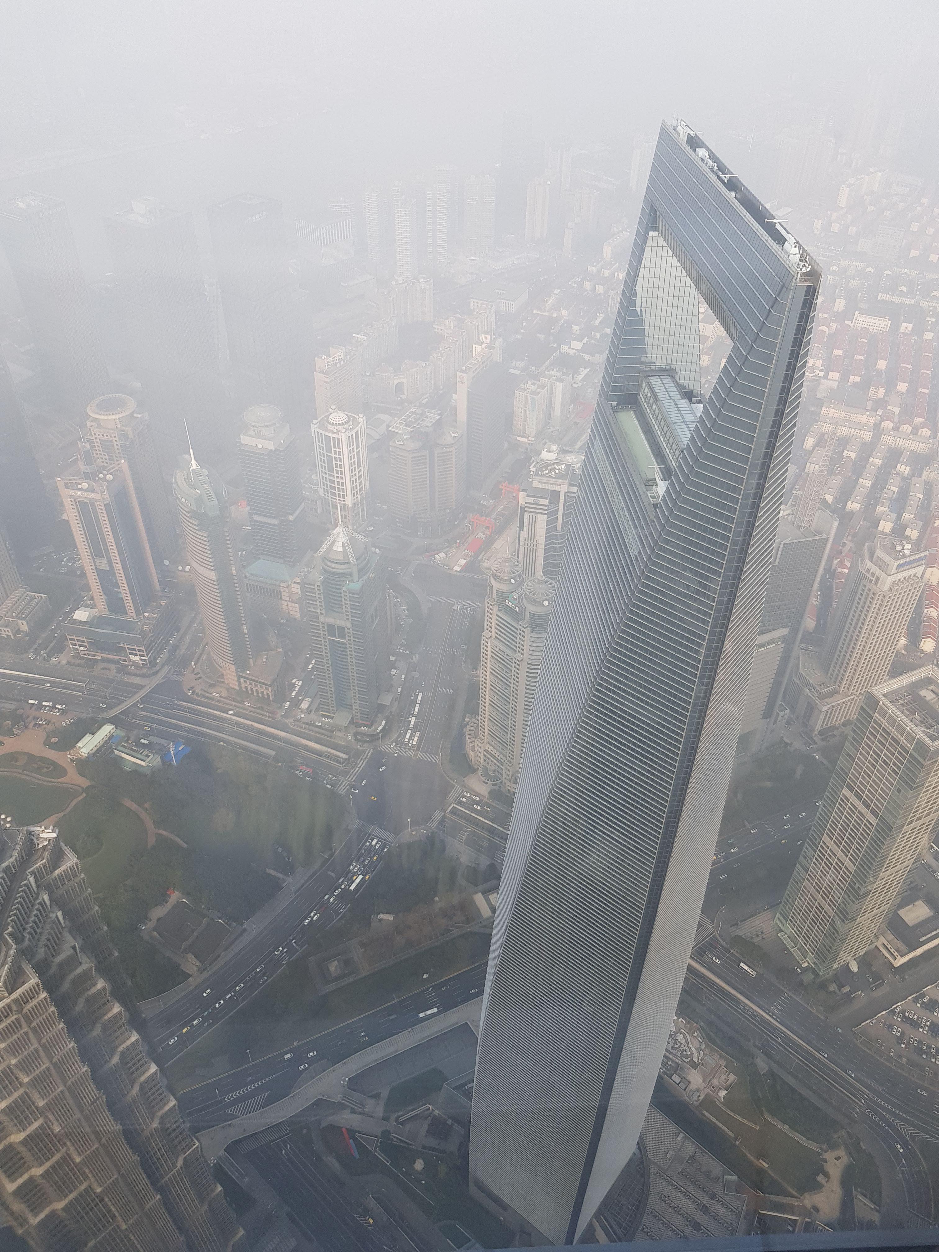 shanghai view from shanghai tower china