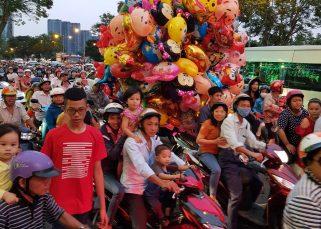 Saigon Ho Chi minh city new year