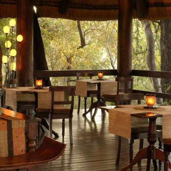 Sabi Sabi Little Bush Camp Accommodation Dining Deck