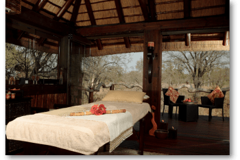 Simbambili Game Lodge Bedroom