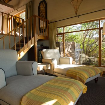Ulusaba Rock Lodge Downstairs