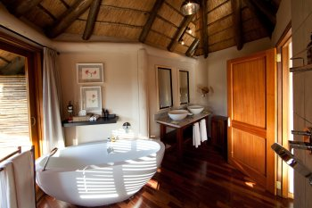 Ulusaba Safari Lodge Elephant Bathroom