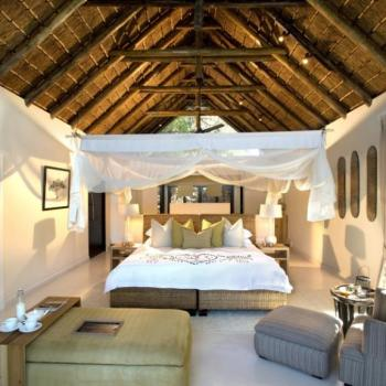 Lion Sands Game Reserve Honeymoon Accommodation River Lodge Luxury Bedroom