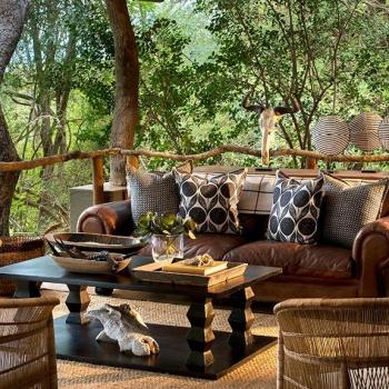 Lion Sands Tinga Lodge Accommodation Deck