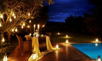 Savanna Private Game Lodge Outdoor Dining