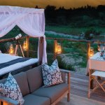 Lion Sands Game Reserve Tinga Lodge Outdoor Sleeping Area