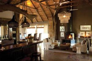 Leopard Hills Private Game Reserve Bar and Lounge
