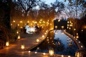 Londolozi Pioneer Camp Outdoor Dinner