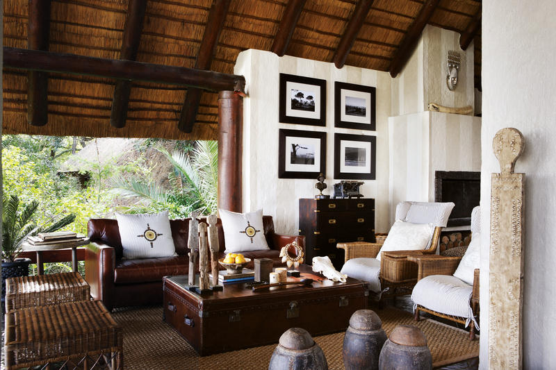 Londolozi Varty Camp Living Space